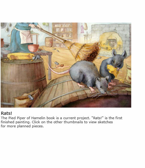 Image of Rats painting